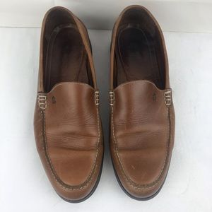 Havana joe brown slip on shoes size 10